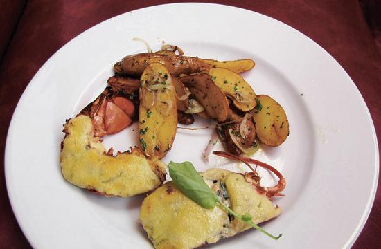 Melt-in-your mouth Lobster Thermador.