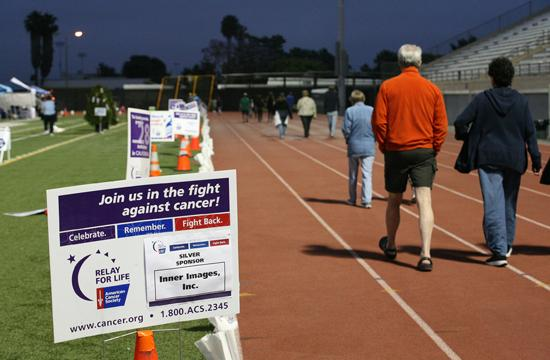 Relay for Life of Santa Monica took place at Santa Monica College's Corsair Field from 9am Saturday