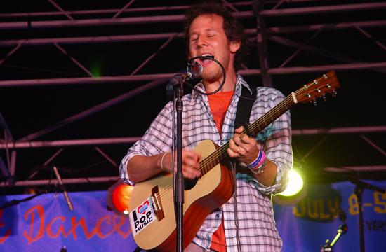 Ben Lee thrilled a huge crowd at Thursday night's Twilight Dance Series
