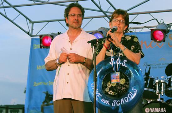 SM City Council member RichardBloom and Linda Gross