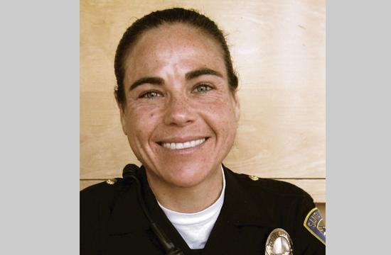 Santa Monica Police Officer Erika Aklufi