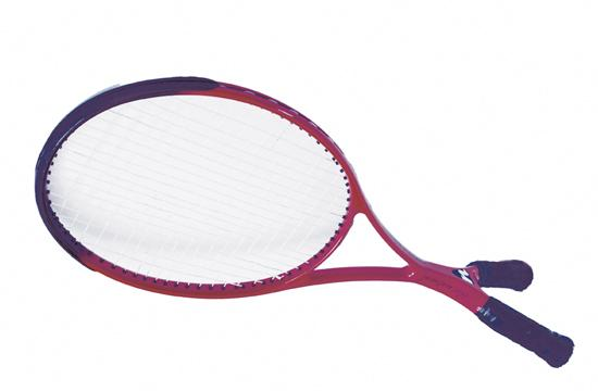 The two-handled tennis racquet