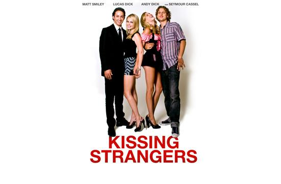 "Movie Poster for ""Kissing Strangers"" with Matthew Smiley"