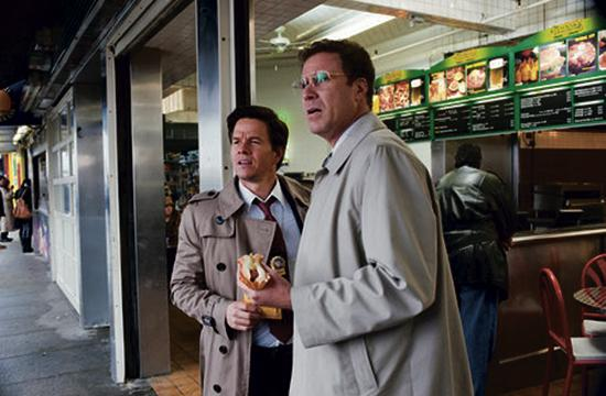 """Will Ferrell as Allen Gamble and Mark Wahlberg as Terry Hoitz in director Adam McKay's """"The Other Guys."""""""