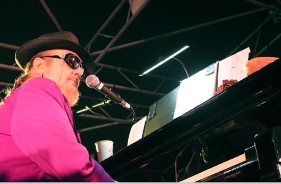 Dr. John dazzles the crowd at the last performance of the 2010 Twilight Dance Series.
