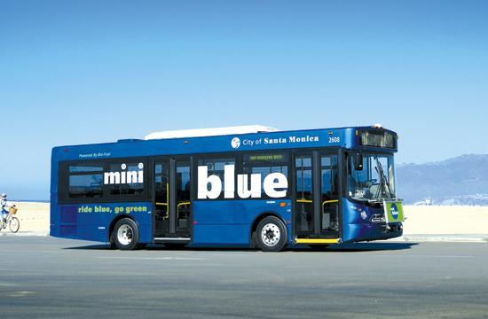 A Santa Monica bus.