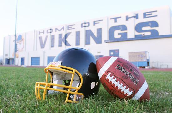 Photo graphic for Samohi (Santa Monica High School) Vikings' football.
