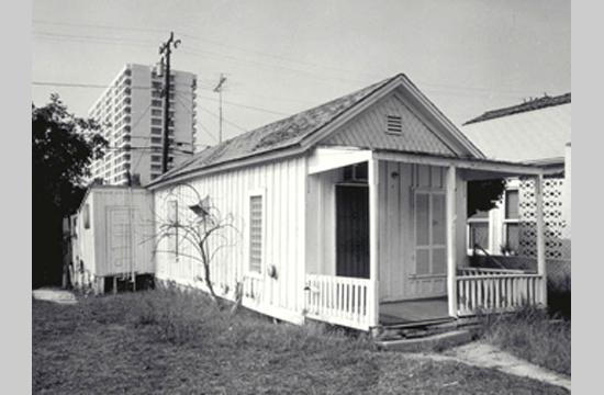 Santa Monica's Shotgun house