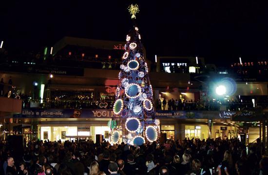The holiday season kicked off in Santa Monica on Nov. 20