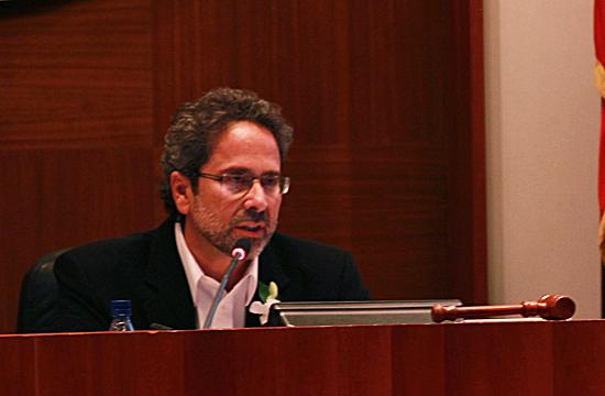 Richard Bloom was voted by the City Council to be Santa Monica's Mayor on Tuesday