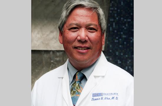 Dr. Dennis Woo is a board-certified pediatrician with the UCLA Medical Group and a former chair of the Pediatrics Department at Santa Monica-UCLA Medical Center and Orthopaedic Hospital.