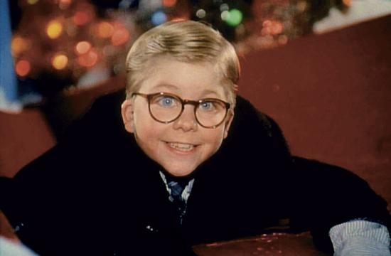 "Peter Billingsley as Ralphie Parker in the 1983 holiday classic ""A Christmas Story."""