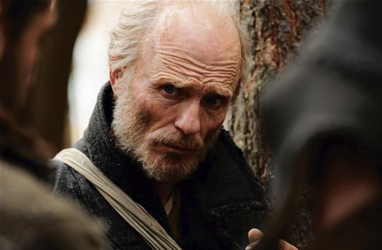 "Ed Harris in his latest film ""The Way Back"" directed by Peter Weir."