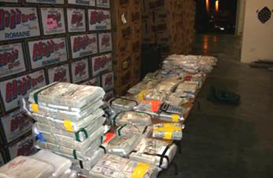 Santa Monica Police helped mulitple agencies and police departments in drug sting that led to the seizure of 47 kilograms of cocaine and more than $2.3 million in U.S. currency as well as the arrest of two Canadian citizens.