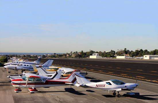 Santa Monica Airport (SMO).