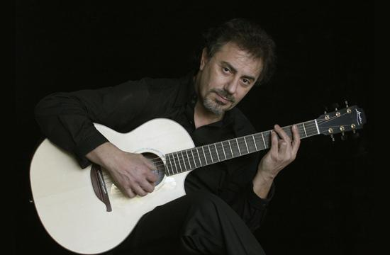French Guitarist Pierre Bensusan.