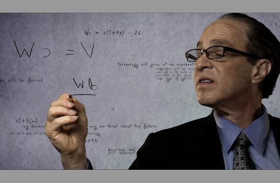 "Ray Kurzweil as seen in the documentary film ""Transcendent Man."""