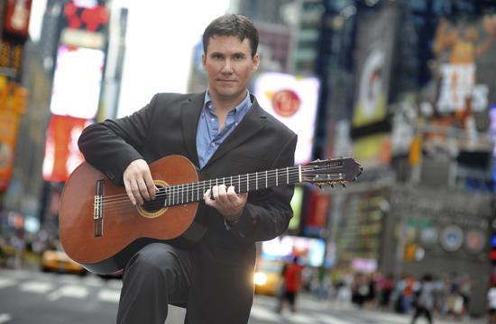 Classical Guitarist Peter Fletcher.