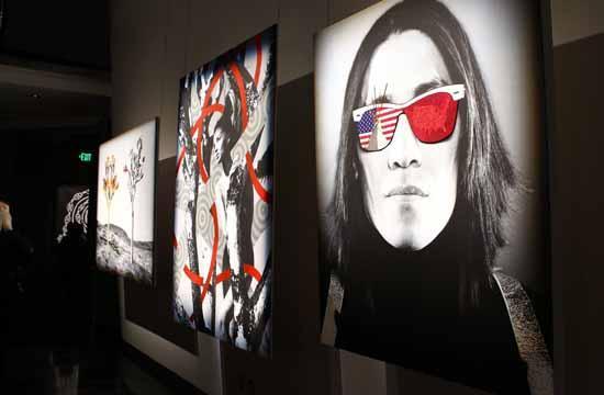 """NOMAD: Two Worlds"" exhibit."