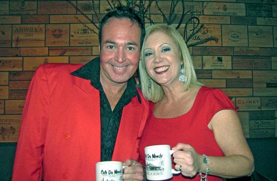 Meanwhile, Back At Café Du Monde producers Vinni Villicano and Peggy Sweeney-McDonald