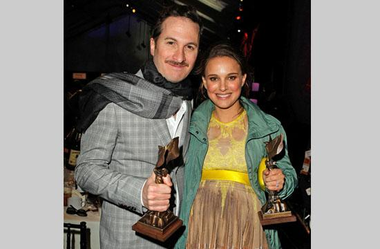 "Darren Aronofsky wins Best Director for ""Black Swan"" and Natalie Portman gets Best Female award for her outstanding performance in that film."