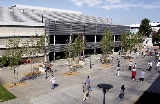 Santa Monica College's library.