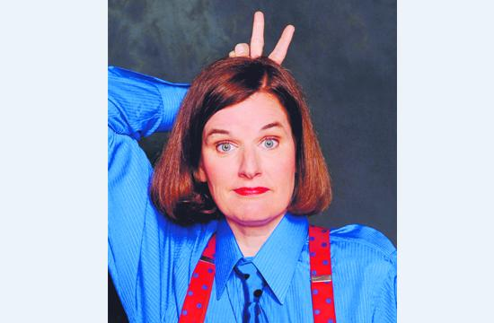 """""""Live it Up. Laugh it Up"""" with Paula Poundstone and Bobby CollinsMarch 29"""