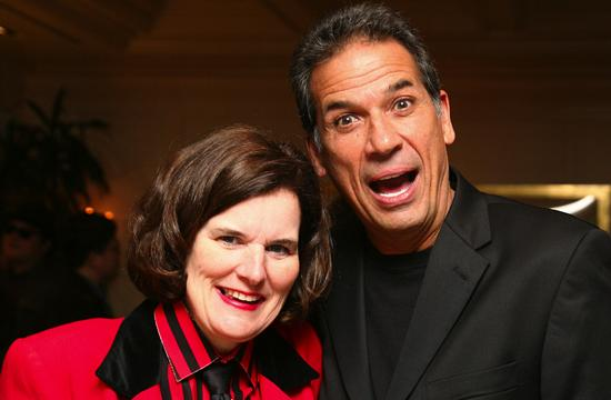 Stand-up comedy legends Paula Poundstone and Bobby Collins took the stage at Shutters on the Beach for a McKinley Elementary School benefit on Tuesday