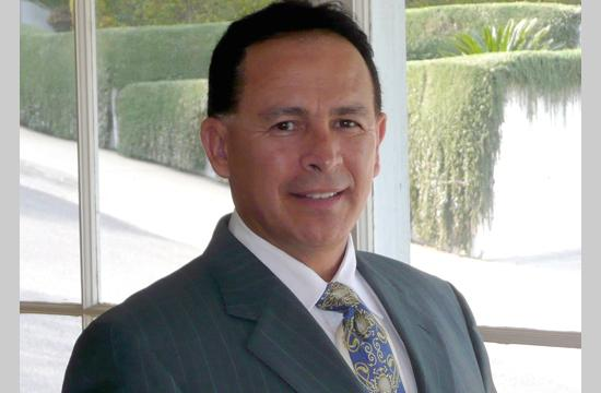 Santa Monica High School Principle Hugo Pedroza
