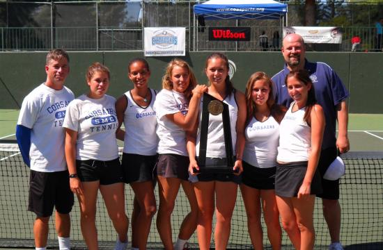 SMC Tennis took home their first CCCAA state championship on Thursday.