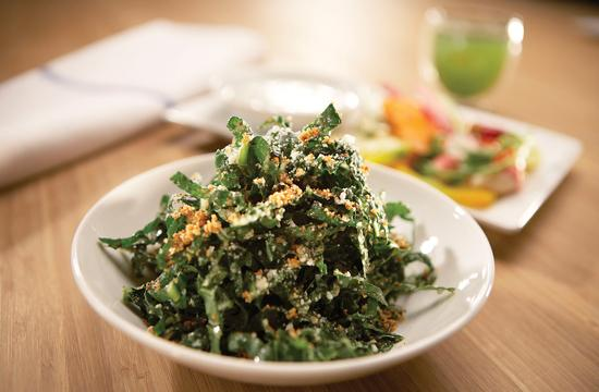 Tuscan Kale salad ($8) - kale is considered to be anti-oxidant and anti-inflammatory.