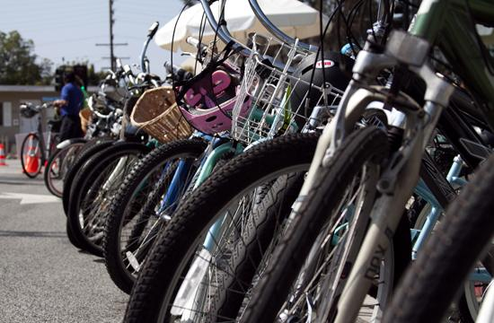 Santa Monica Alternative School (SMASH) held their first Bike It Day on Wednesday.