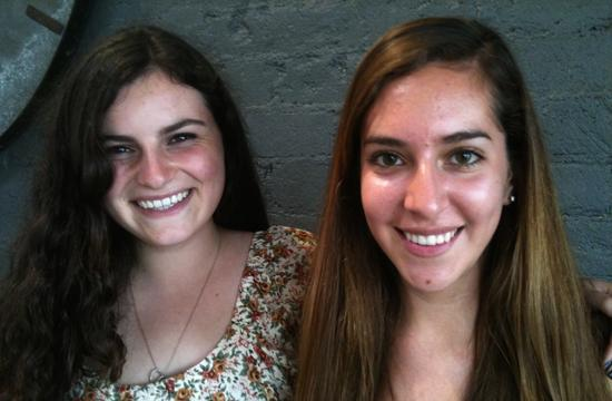 Charlotte Biren and Jenna Perelman