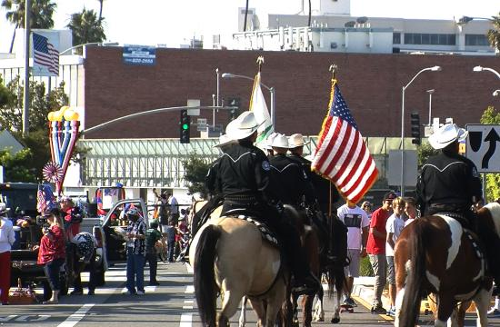 Residents from Santa Monica joined on Main Street Monday morning for the annual Fourth of July Parade.