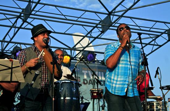The LA Salsa All-Stars started the Twilight Dance Series with some Latin beats on Thursday night.