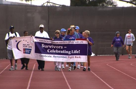 The American Cancer Society's Relay for Life held their annual event at Corsair Field over the weekend.