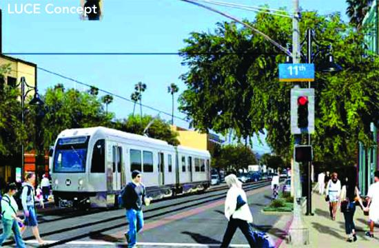 A new program of activities facilitated by a mixed-Use boulevard designation will allow Colorado Avenue to emerge as an attractive and interesting street. Enhanced transit facilities will reduce the need for vehicle trips.