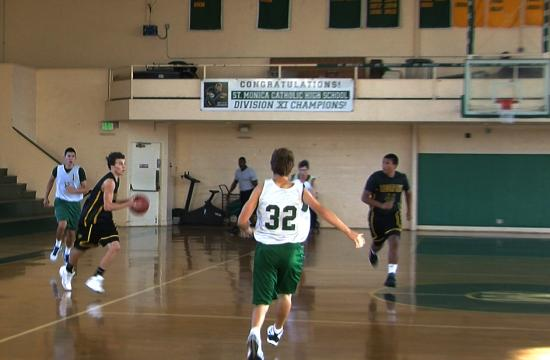 Moorpark was one of six playoff teams competing in St. Monica's Westside Summer Slam this weekend.