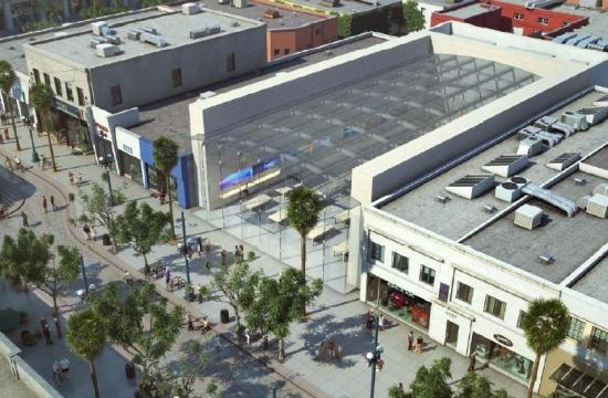 Could Apple be opening a new store in Santa Monica? Its possible location is 1415 Third Street Promenade.