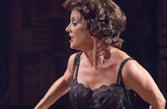 """Soap star Judith Chapman as Vivien Leigh in """"Vivien."""""""