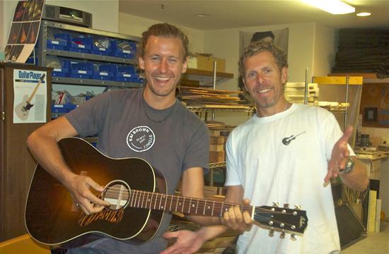 Clayton Joseph Scott (left) and Bill Asher.