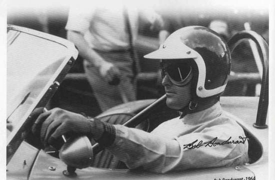 Automotive legend Bob Bondurant will be special guest at Saturday's 7th Annual Tony Sousa Car Show.