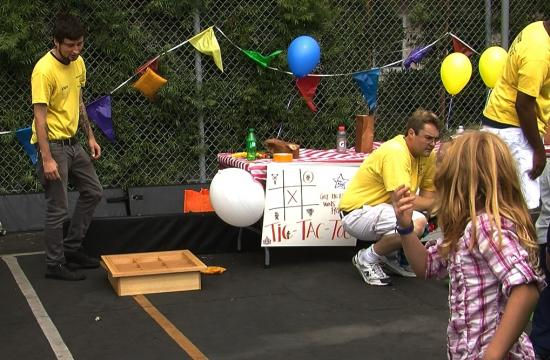 The Santa Monica Boys and Girls Club celebrated their Day for Kids on Saturday.