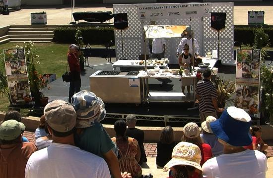 The Santa Monica Farmer's Market concluded the Good Food Festival and Conference at SaMoHi on Sunday.