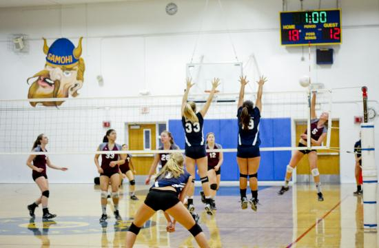 The No. 3 ranked SaMoHi Lady Viking volleyball team overcame a scare in the second game to sweep the Torrance Tartars on Tuesday afternoon.