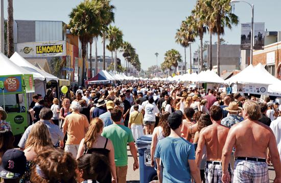 The 27th annual Abbot Kinney Festival returns to Venice on Sunday.