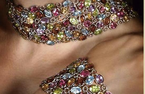 The International Gem & Jewelry Show runs through Sunday.