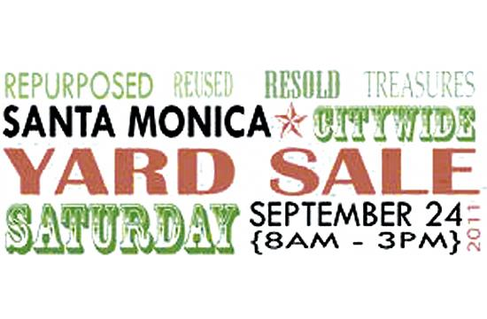 The 2nd Annual Citywide Yard Sale runs from 8 a.m. to 3 p.m. Saturday