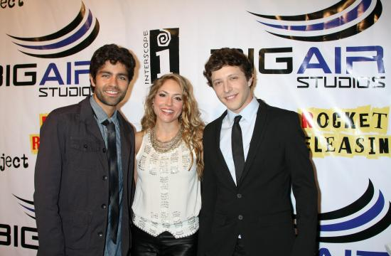 From left: Adrian Grenier