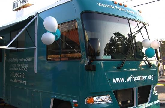 The Westside Family Health Center of Santa Monica showed off its new Mobile Medical Unit on Monday night.